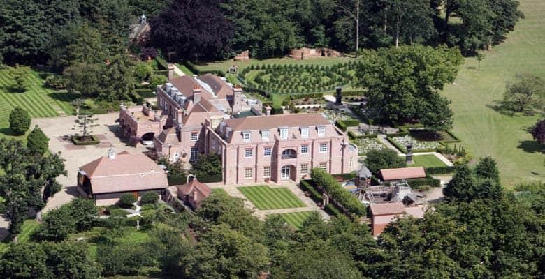 Casa dos Beckham tem até zoológico